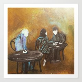 Jealous Of Youth Cafe Part 1 Art Print