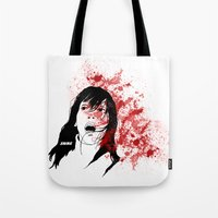 shining Tote Bags featuring Shining by SeanAndOnAndOn