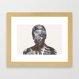 Sir Bill Clinton Framed Art Print