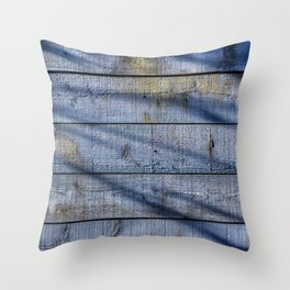 Shadowed Panels Throw Pillow