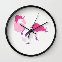 My Little Pony - Minimal Pinkie Pie as Fili-Second Wall Clock