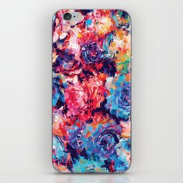 Fiona Floral iPhone Skin