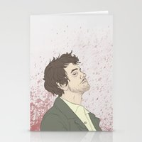 will graham Stationery Cards featuring Will Graham by karley denean