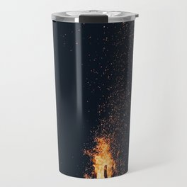 bonfire #society6 #buyart #decor Travel Mug