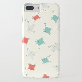 Tape cats iPhone Case
