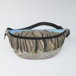 Cliff Eroded Sandstone Rock Landscape Himalaya  Fanny Pack