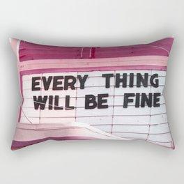 Every Thing Rectangular Pillow