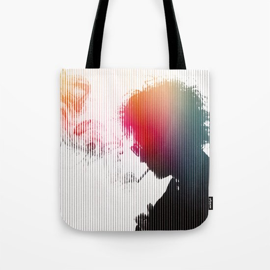 Chaos is a friend of mine Tote Bag