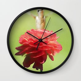 The Flower Goddess Wall Clock