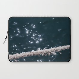 Liquid sapphire (and the old rope) Laptop Sleeve