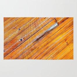 Wood lines Rug
