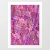 Bright as a feather Art Print