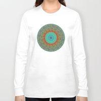 kaleidoscope Long Sleeve T-shirts featuring Kaleidoscope  by BrucestanfieldartistPatterns