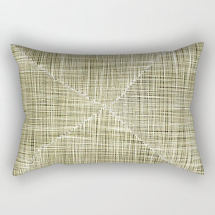 Ink Weaves: Citrine Rectangular Pillow