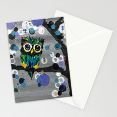 ::Gemmy Owl Weather's the Storm:: Stationery Cards