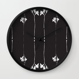 COLOUR ME FLOWER Wall Clock