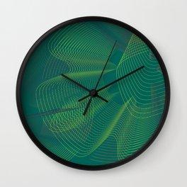 Emerald Passion Wall Clock