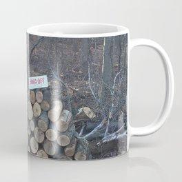 Hands Off Coffee Mug