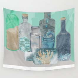 Deconstructed Beach Wall Tapestry