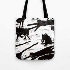 ze crying katz Tote Bag