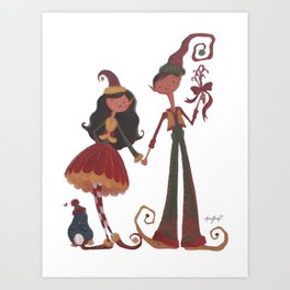 Have YoursELF a Merry Little Christmas! Art Print