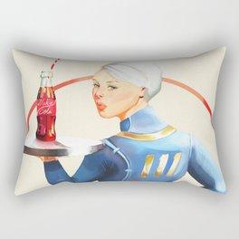 Nuka Cola Pinup Rectangular Pillow