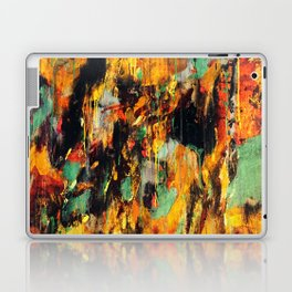 Untitled Abstract - Taunting Jester Laptop & iPad Skin