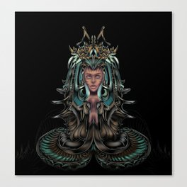 aquarian queen Canvas Print