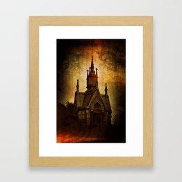 Gothic Sweet Gothic Framed Art Print