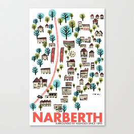 Narberth Surrounded Canvas Print