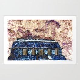 Palenque Fantasy Art Print
