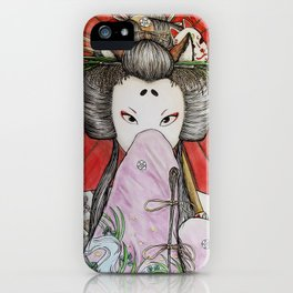 Kuzunoha iPhone Case