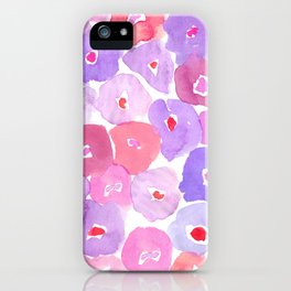 Watercolor Floral iPhone Case
