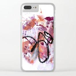 Asemic 2 Clear iPhone Case