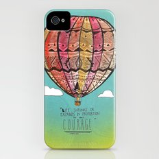Life Expands quote Slim Case iPhone (4, 4s)