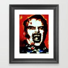 Fido Framed Art Print