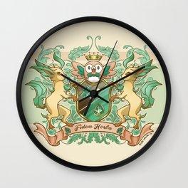 Fidem Herba Wall Clock