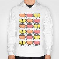 sushi Hoodies featuring Sushi by ocamixn
