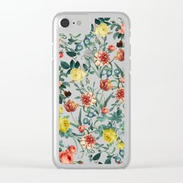 NIGHT FOREST XV Clear iPhone Case