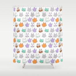 Kolor Kats Shower Curtain