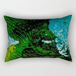 Gravity's Topography Rectangular Pillow