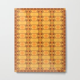 Ebola Tapestry-1 by Alhan Irwin Metal Print