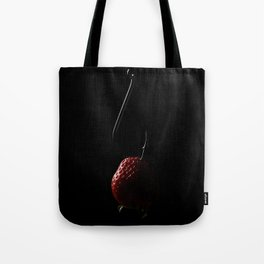 The Fishhook and the Strawberry Tote Bag