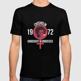 Shirley Chisholm 1972 Presidential Election T-Shirt Women T-shirt