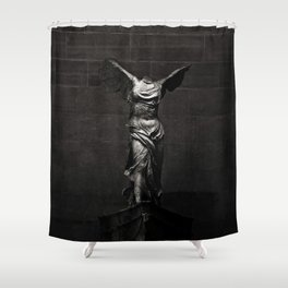 Nike von Samothrake Shower Curtain