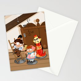 the shepherdess and the chimney sweep Stationery Cards