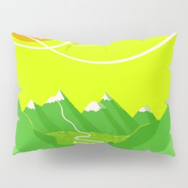 Minimalist Mountains Pillow Sham