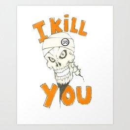 Achmed The DEAD Terrorist  Art Print