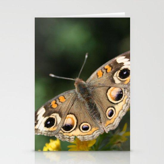Common Buckeye Stationery Cards