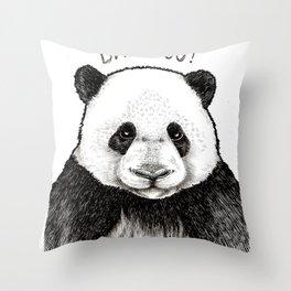 Who Nicked My Bambo (Original) Throw Pillow